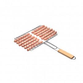 Grille à saucisse barbecue