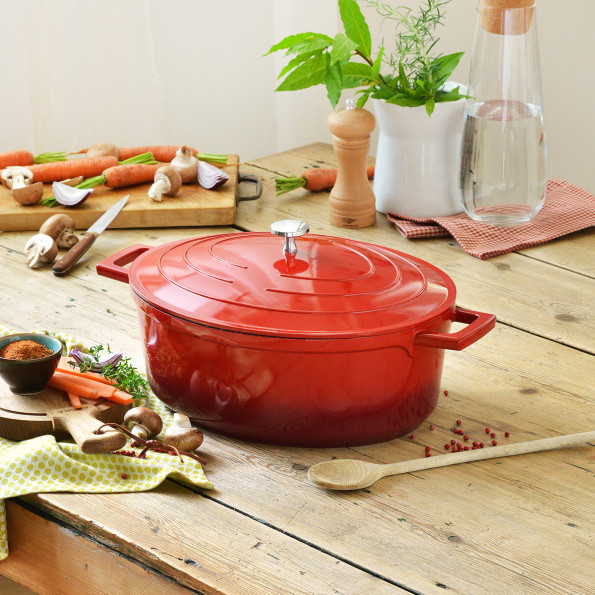Cocotte ovale6439