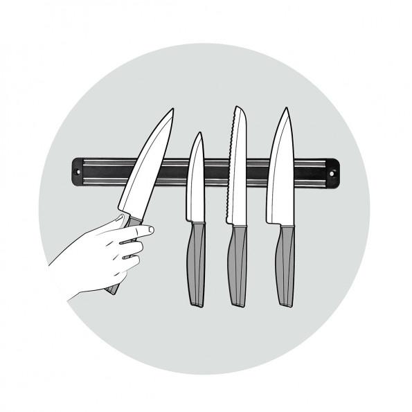 Barre aimantée pour couteaux6463