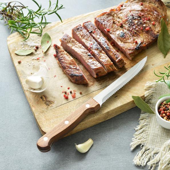 Set de 6 couteaux à steak6665