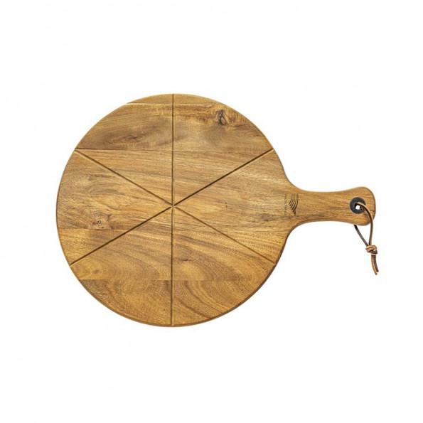 Planche à pizza avec roulette6813