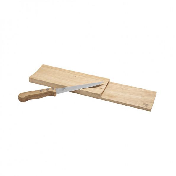 Planche à saucisson et son couteau6836