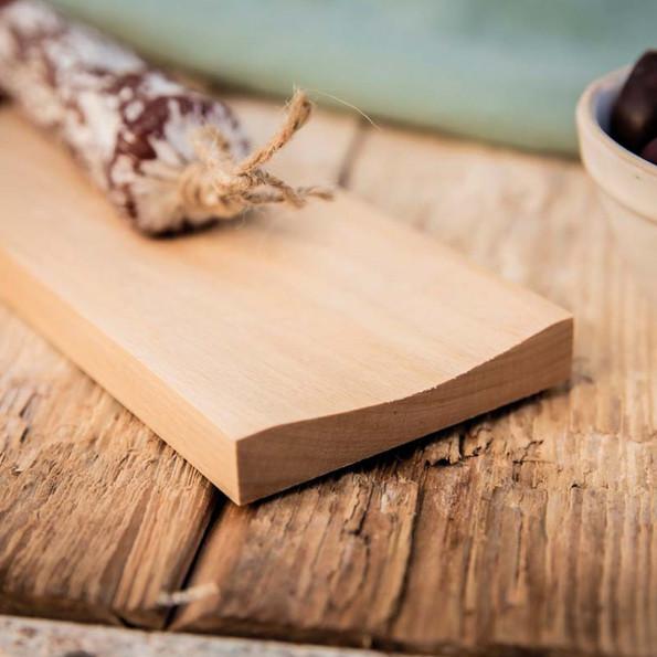 Planche à saucisson et son couteau6840