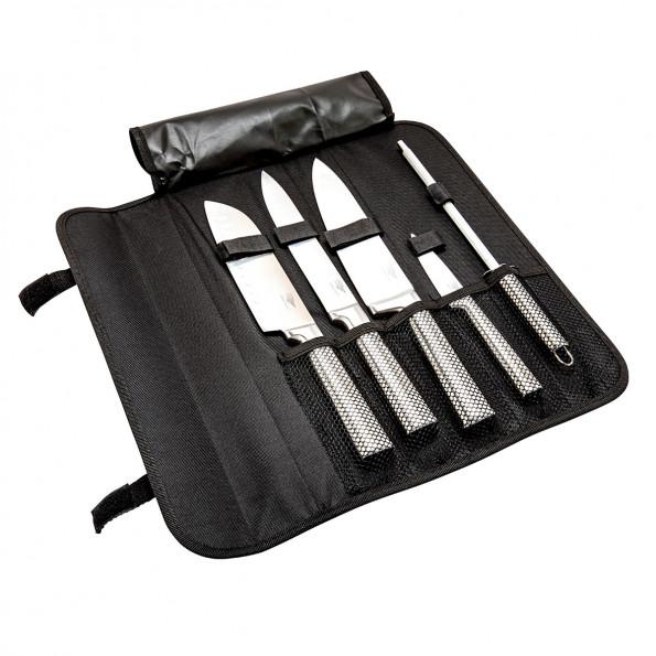 Mallette de 4 couteaux et 1 aiguiseur6845